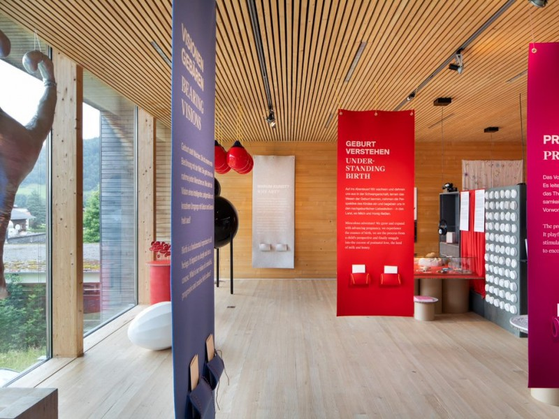Birth Cultures: A new exhibition opens in Frauenmuseum Hittisau